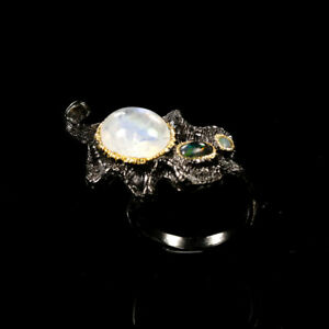 Natural-Moonstone-925-Sterling-Silver-Ring-Size-8-5-RR17-1484