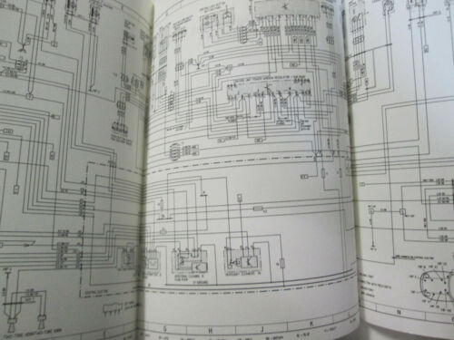 Porsche 924S Model 87 Wiring Diagrams Manual  FACTORY OEM Book Loose Leaf Format