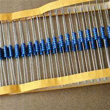 1w Metal Film Resistor 1 1 Watt 1 Ohm 10r 100r 220r 1k Ohm 47k To 1m Ohm