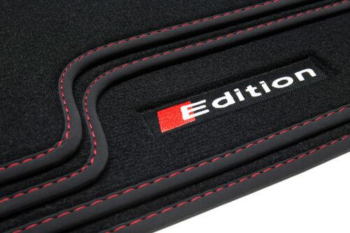 2004-2006 Edition Fußmatten für Audi A6 4F C6 Avant Kombi S-Line Quattro Bj