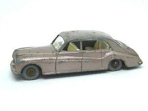 Matchbox-Lesney-No-44b-Rolls-Royce-Phantom-V-raro-ruedas-de-plastico-gris