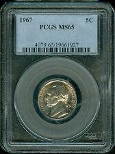 1967-P Jefferson Nickel PCGS MS65