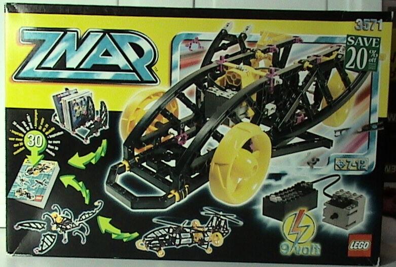 Lego ZNAP 3571 negromobile Con Motor Nuevo Sellado