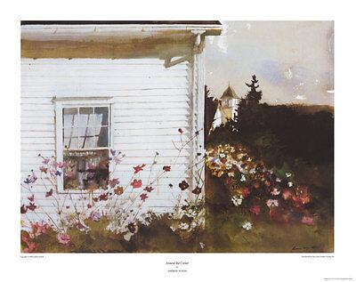 Around the Corner Art Poster Print by Andrew Wyeth, 31x24.5