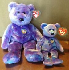 New Ty Clubby IV 4 Official Club Bear Buddy And Beanie Baby Lot Of 2
