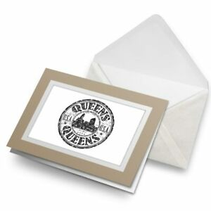 Greetings-Card-Biege-Queens-New-York-USA-America-Travel-5787