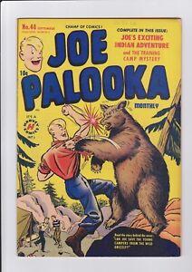 Joe-Palooka-48-Sept-1950-Harvey-Comics-Grizzly-Bear-cover-nice-glossy-FN