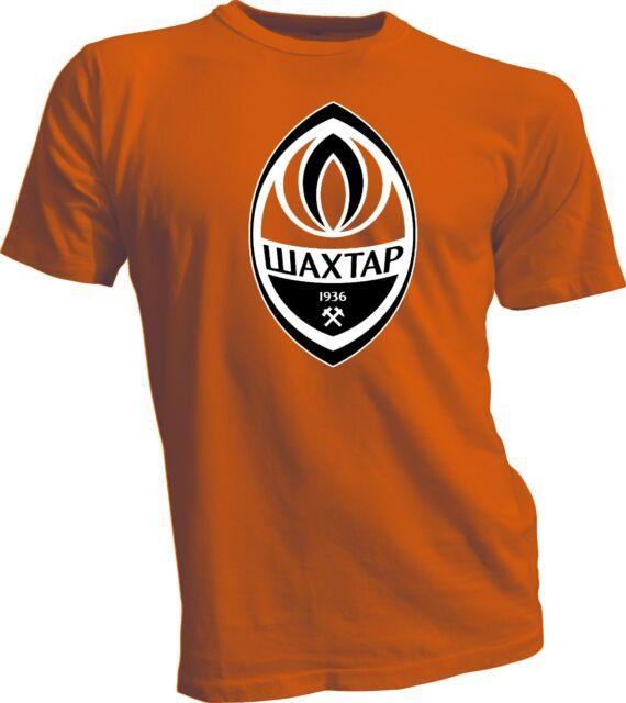 FC Shakhtar Donetsk Ukraine Football Soccer T Tee Shirt Men's Screen Printed s