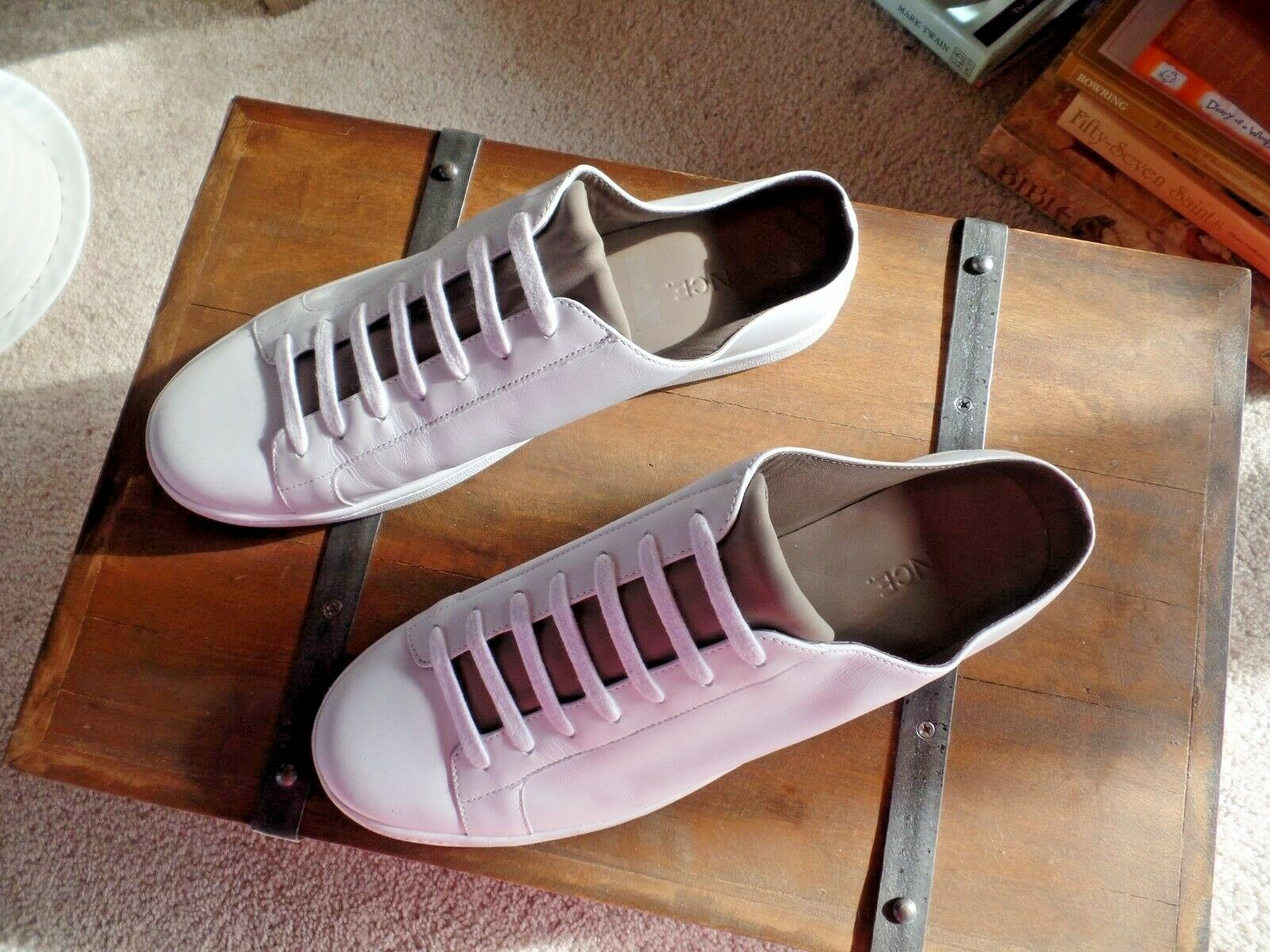 New Vince Varley Leather White Slip on Sneakers Sneakers Sneakers Size 9 US, 39 EUR  250 9a1446