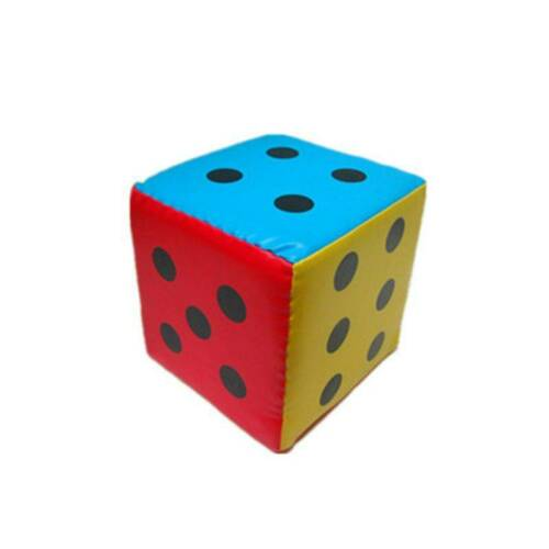 20//12cm Super Large Dice Colorful Six Sided Sponge Party Game Props Teaching Aid