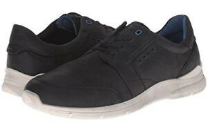 klar in Sicht bester Preis neuer Lebensstil Details about ECCO Irondale Retro Low Men's Sneakers, Color Black, Size US  10-10.5, EU 44 NEW