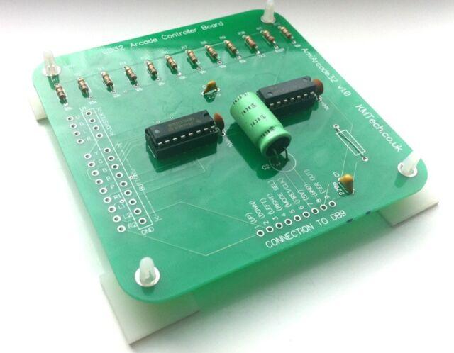 Amiarcade32 Amiga CD32 controller board Happ sanwa DIY Kit
