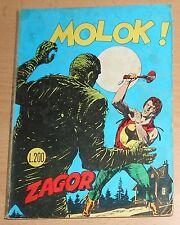 ED. BONELLI  SERIE  ZAGOR ZENIT 1° ED.  N° 128  1971  ORIGINALE  !!!!!
