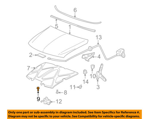GM OEM Hood-Bumper Cushion 11588868