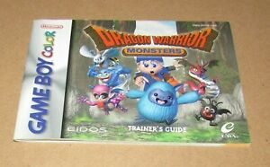 Dragon-Warrior-Monsters-Instruction-Manual-Only-for-Nintendo-Game-Boy-Color