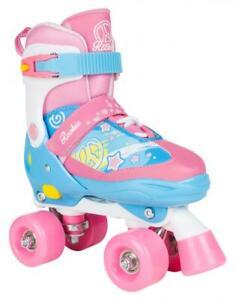 New-Rookie-Fab-Kids-Childrens-Girls-Pink-Adjustable-Quad-Roller-Skates-Sale