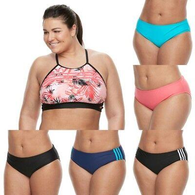 70759b283f9 Adidas Womens PLUS SIZE Swim Bikini Separates (Sizes 1X 2X 3X) NWT MSRP  52
