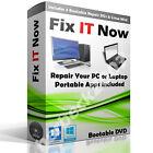 WIN XP VISTA 7 8 10 PRO BOOT CD PC REPAIR RECOVERY DISC Toshiba HP