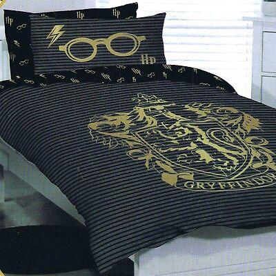 Twin Bed Quilt Doona Duvet Cover Set, Harry Potter Bedding Set King