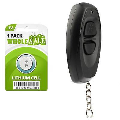 2 Car Key Fob Keyless Remote Black For 1990 1991 1992 1993 1994 Toyota Camry