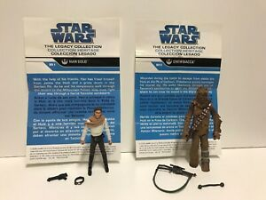 star-wars-legacy-collection-Han-Solo-BD1-amp-Chewbacca-BD3-Lot