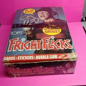 1988-Topps-Fright-Flicks-Box-31-Packs-Mint