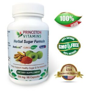 Princeton-Vitamins-Herbal-Sugar-Formula-550-mg-60-Caps