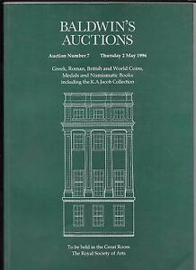 Baldwin-039-s-griegos-romanos-ingleses-y-monedas-mundiales-catalogo-1996