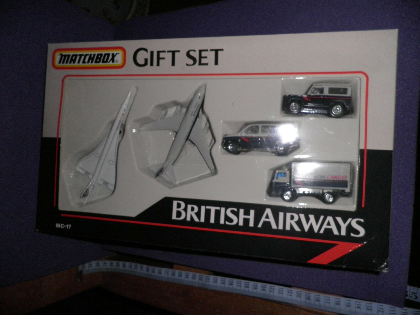 1990 Matchbox MC-17 British Airways Gift Set Boxed