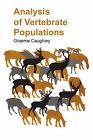 Analysis of Vertebrate Population by Graeme (Paperback, 2004)
