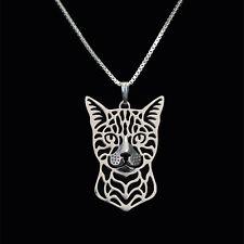 ❤️ Halskette Anhänger Bengalkatze, Bengal cat, Katzenkopf, pendant, necklace
