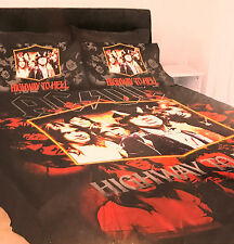 DOUBLE SIZE BED DOONA COVER ACDC AC DC AC-DC HIGHWAY TO HELL BAND MUSIC IMAGE