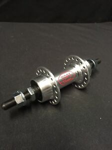 1980 Schwinn Approved USA ACS front hub large flange 36 hole alloy 3//8 axle