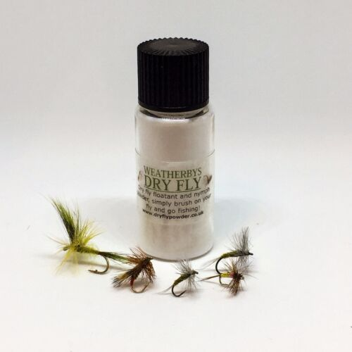 UK/'s WEATHERBY/'S DRY FLY FLOATANT POWDER Worldwide Shipping from the UK