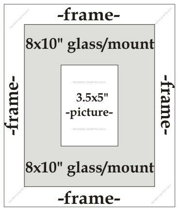Choose size Real Beech Wood Photo Picture Frame with Black Mount
