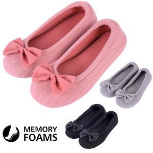 Ladies' Cotton Knit Memory Foam