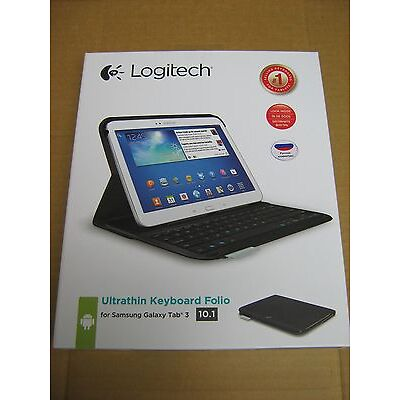Logitech Wireless UltraThin Keyboard Folio S310 Samsung Galaxy TAB3 Bluetooth
