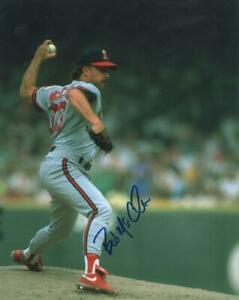 BOB MCCLURE CALIFORNIA ANGELS SIGNED AUTOGRAPHED 8X10 PHOTO W/ COA