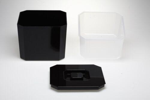 Eiswürfelbehälter GASTRO Barsupply black  Icebox Eiskübel  4 Liter Eiseimer 04
