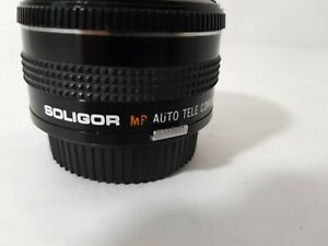 Soligor-MP-Auto-Tele-Converter-2X-To-Fit-OM-Olympus-Manual-Focus-Mount