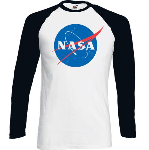 NASA T-SHIRT Mens Big Bang Theory Logo Retro Space Cooper Sheldon Nerd Geek Top