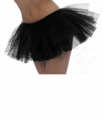 Ladies 2 /& 3 Layers TuTu Skirt Striped Tights Halloween Fancy Dress Accessories