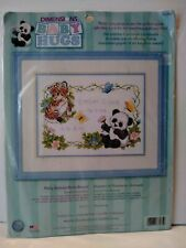 Dimensions 73065 Baby Animals Birth Record Stamped Cross Stitch Kit