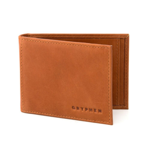 Hoxton Leather Money Clip Wallet with ID Window by Gryphen RRP £18