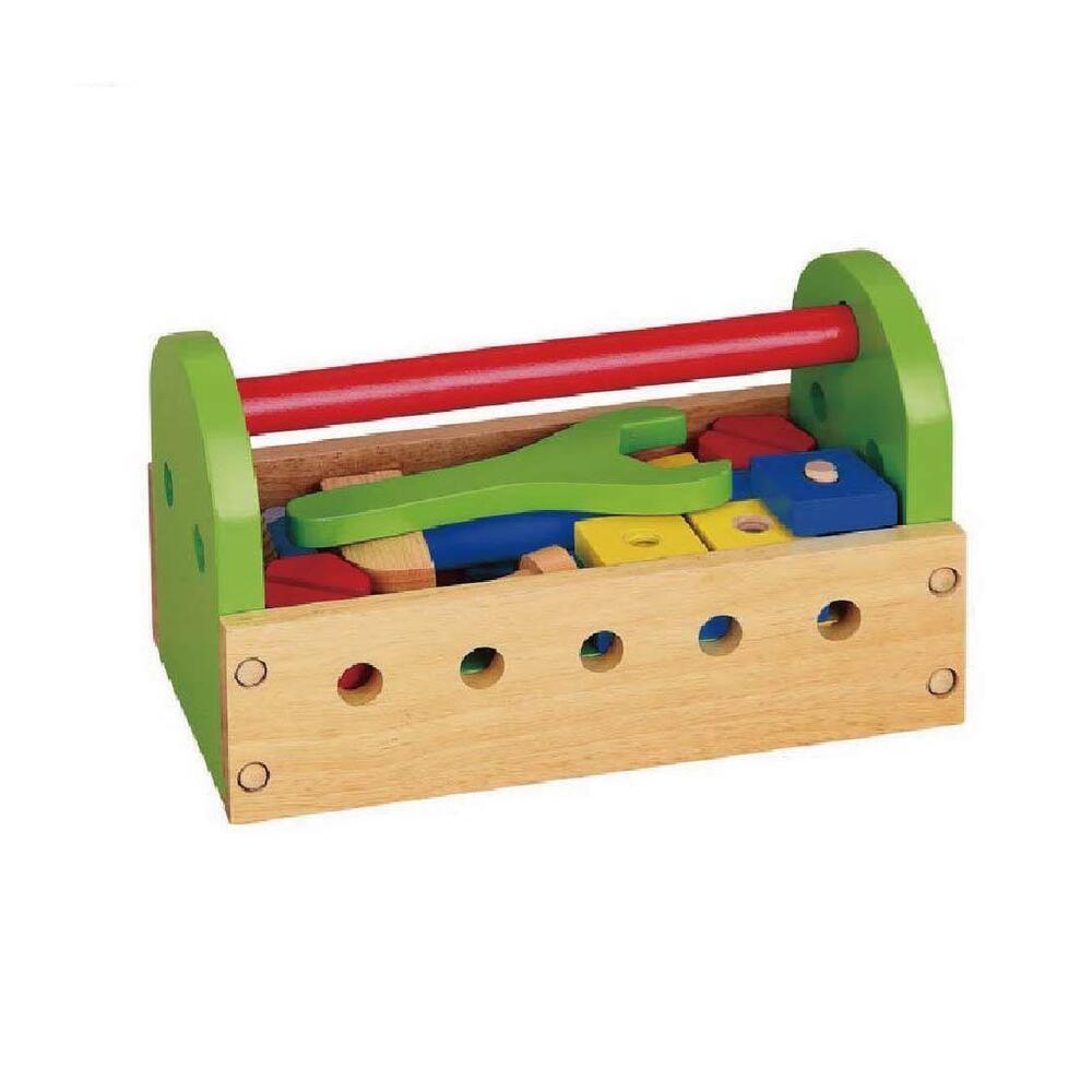 Viga Pour Enfants/enfants En Bois 24 Piece Tool Kit-s Wooden 24 Piece Tool Kit Fr-frafficher Le Titre D'origine