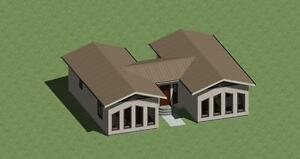 Image Is Loading H Shaped House Plans 1300 Sq Ft With