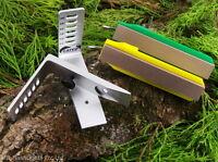 Gatco Portable Back Packer Knife Sharpening System Survival Bushcraft Hunting