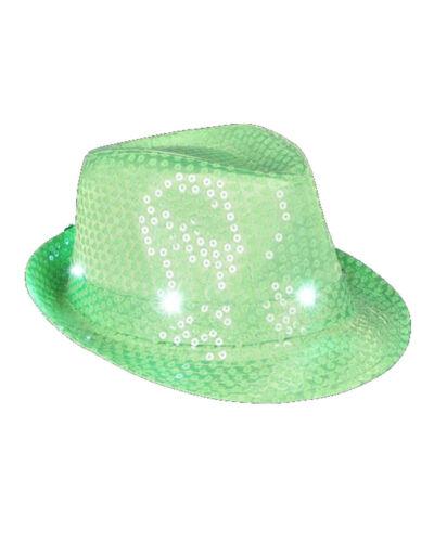 Neon Orange or Neon Lime Hats Neon Pink Flashing Fedora Neon Green