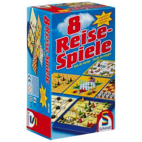 Schmidt Spiele 8 viaggio giochi magneticamente Uomo irritazione non ti frantoio Halma
