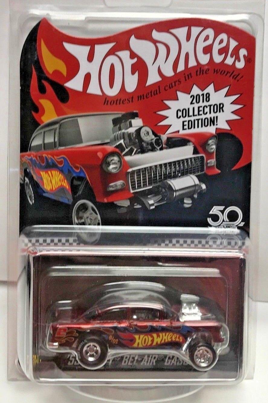 1 64  2018 Hot Wheels Kmart Mail-In '55 Chevy Bel Air Gasser